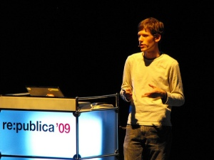 moot at re:publica '09, photo by christian.pier